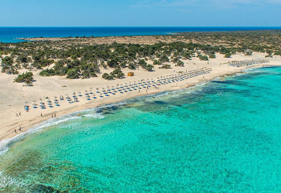 Ile De Chrissi Crete Carte.Les Plages De Ierapetra Crete Cretan Villa Hotel